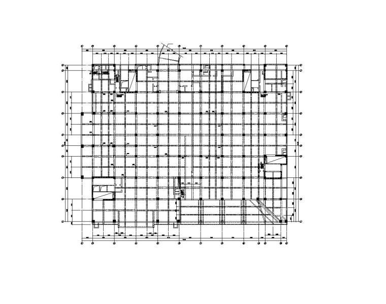 中国原子能科学研究院科技办公楼建筑结构施工图—钢筋砼框架-剪力墙结构