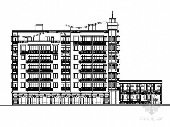 某七层商业住宅综合楼建筑施工图