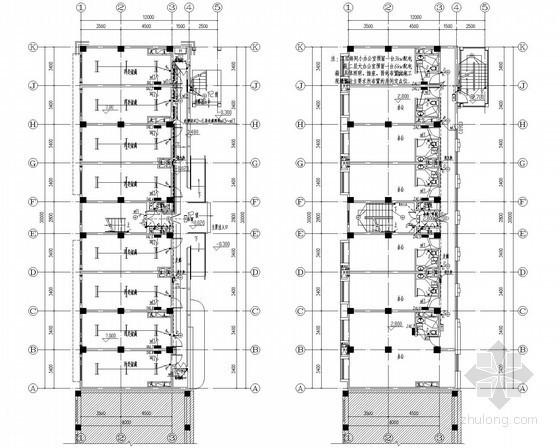 [上海]综合办公楼全套电气图纸(含计算书)
