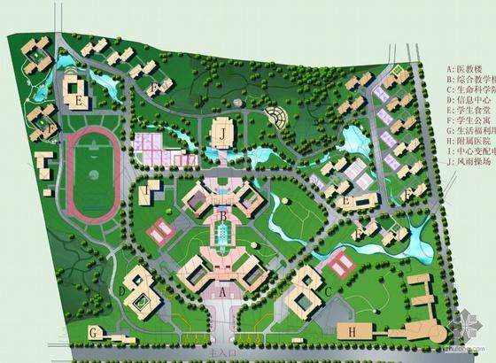 浙江大学景观规划方案