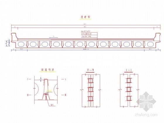 [河北]13m跨径预应力混凝土先张法简支空心板设计图18张