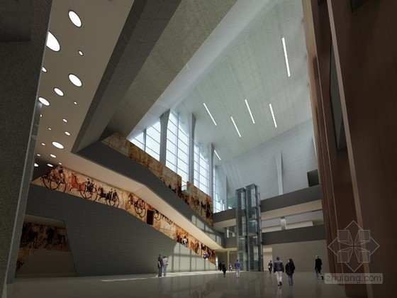 vr展厅3d模型资料下载-博物馆3D模型下载