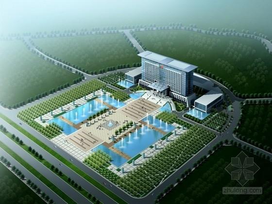[东莞]某16层行政办公楼建筑方案文本(含CAD、多媒体)