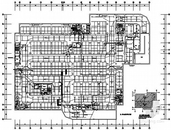 [天津]某二十层办公楼强弱电系统全套图纸88张