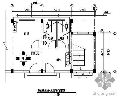 某变电站给排水系统施工方案图