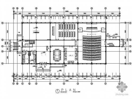 政府会展中心室内装饰施工图
