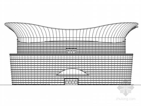 [上海]长风某二十层会展中心建筑施工图(含办公楼)