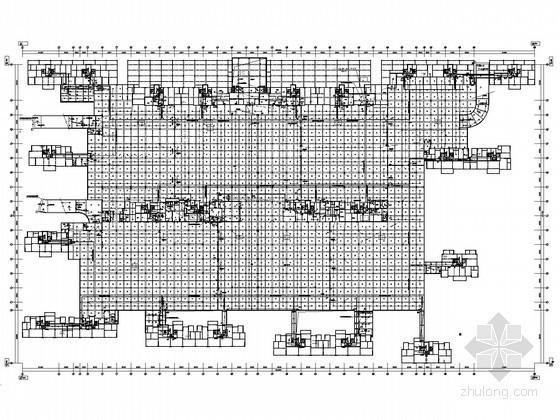 [湖南]大型高层商住楼弱电系统施工图纸157张(含15栋 地下室)