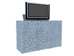 石头样式柜3D模型下载