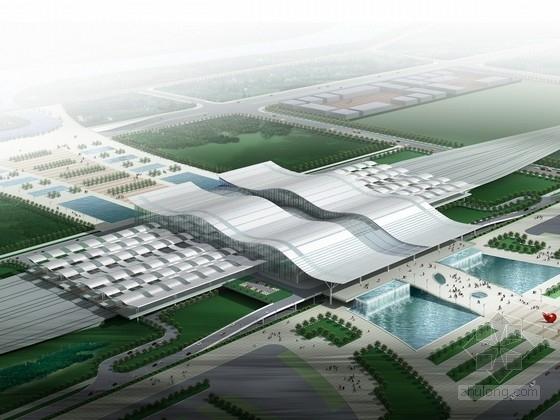 [湖南]大型枢纽站建筑设计方案文本