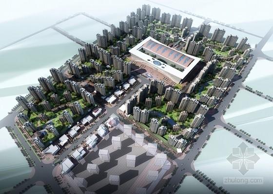 [甘肃]高层城市综合商贸广场建筑设计方案文本(多个方案)