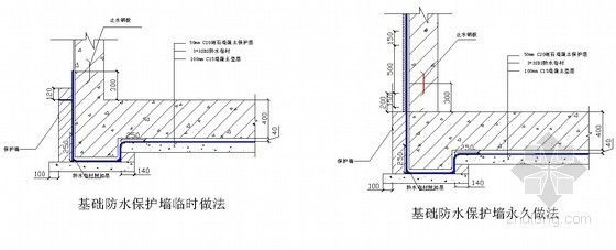 [湖北]酒店工程地下室防水施工方案(SBS防水卷材)