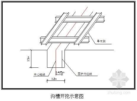 [上海]地铁车站出入口围护结构施工方案(SMW工法桩)