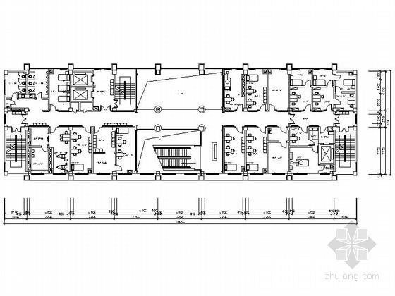 [湖北]某专科医院二层室内装修施工图
