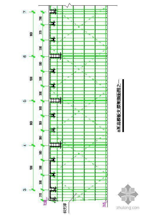 浙江某超高层高支撑模板架施工专项方案及计算