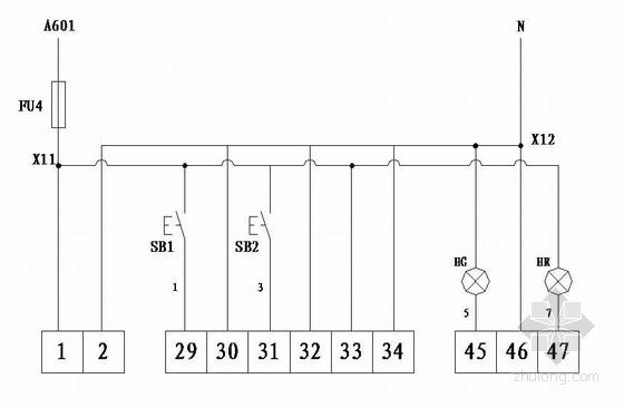 630KVA箱变电气图