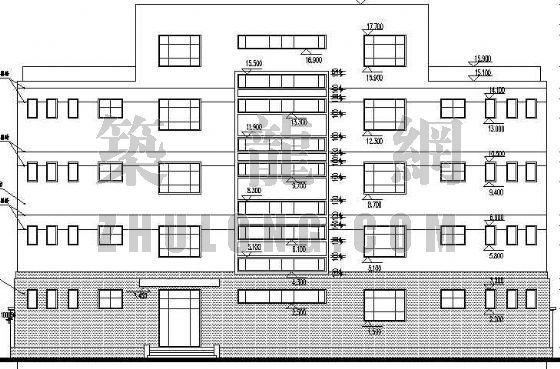 某村委办公楼建筑施工图-2