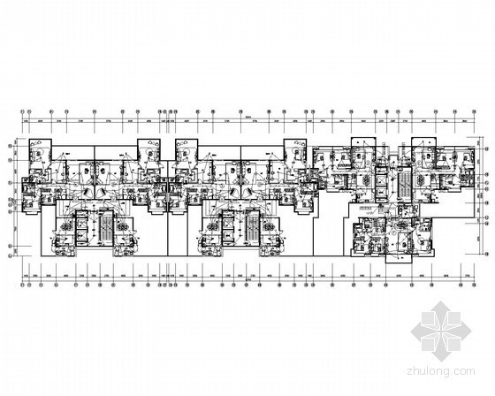 [广东]一类高层底商住宅建筑全套电气施工图纸67张