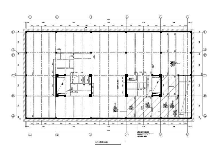 [上海]办公楼密集柜区域梁板加固及局部增建改造施工图