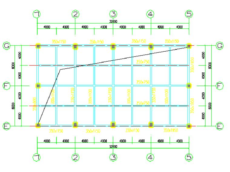 01高大模板区域平面图