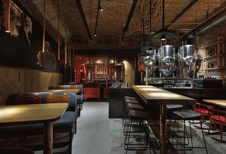 啤酒厂改造而成的工业风酒吧,帅气十足的金属摇滚
