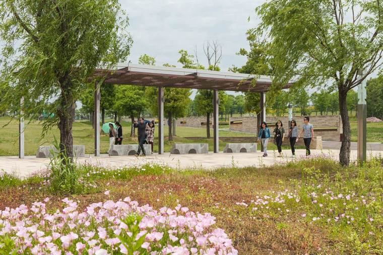 汤山新城周围景观
