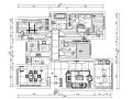 现代风格三居室住宅设计施工图(附效果图)