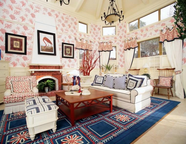 [住宅]美式乡村风格别墅样板房设计效果图
