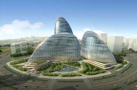 望京搜候-SOHO-中心屋顶钢结构设计