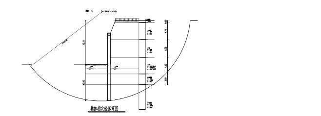 基坑支护工程基坑土钉墙、围护桩施工组织设计(共62页)