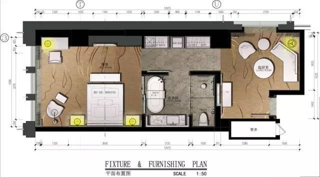 室内设计必学技能:彩色平面图PS教程_26