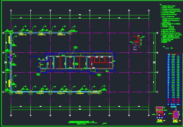 25层华润框架核心筒商业办公楼结构施工图_4