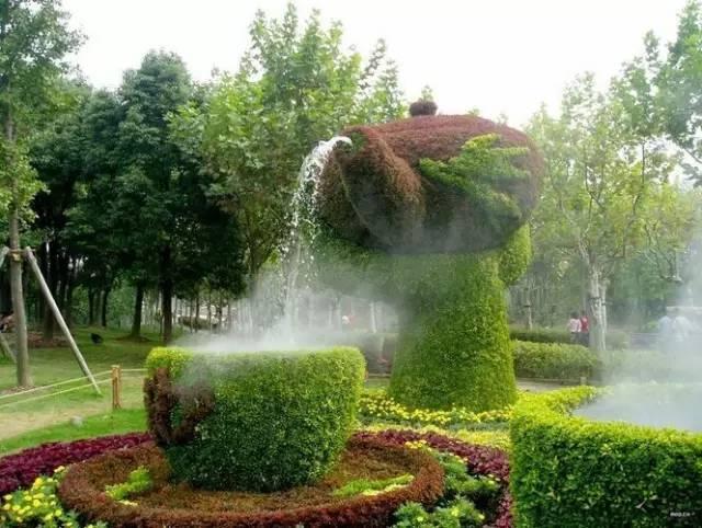 80个极美植物雕塑_24