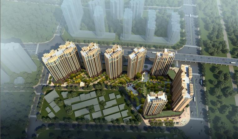 [江西]高层现代风格高耸造型塔式住宅楼建筑设计方案文本