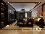 中豪汇景湾143平中式装修,品味中国深厚传统文化