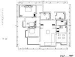 现代简约台式风格样板间设计施工图(附效果图)