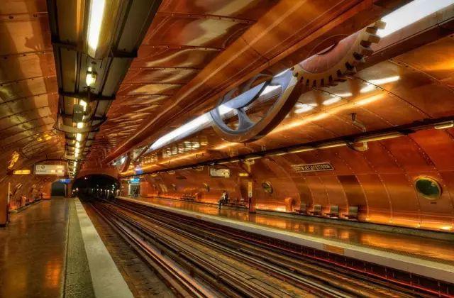 世界最美地铁景观,美到让你不想回家_52