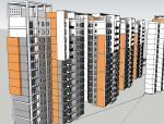 商品房住宅模型设计