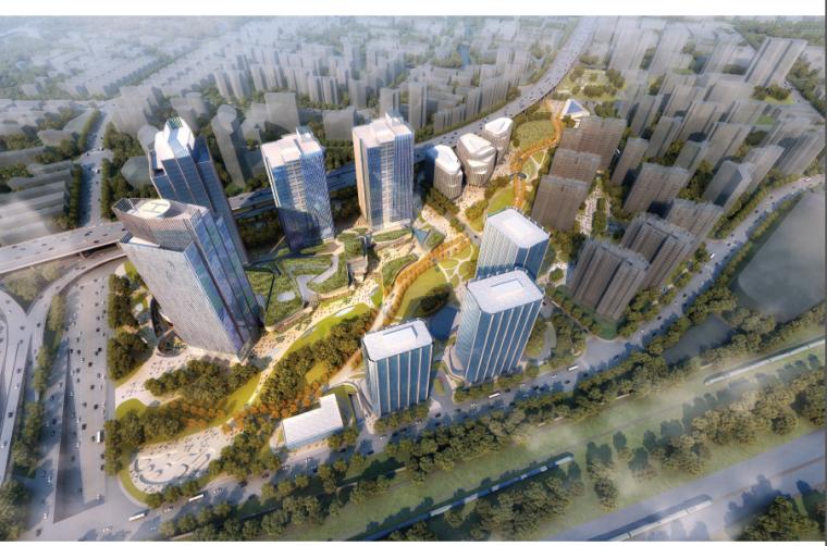 万科南站商务城方案地块设计