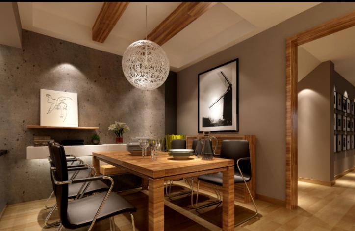 扬州某北欧别墅室内装修设计施工图及效果图