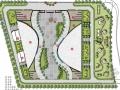 简单自然道路广场详细设计方案(毕业设计可用)