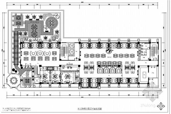商业综合体四星级商务酒店室内施工图