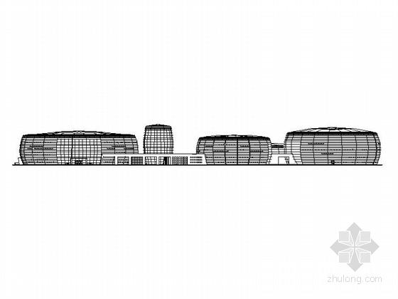 [甘肃]大型圆状文化艺术中心初步设计方案(含效果图)