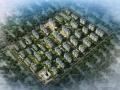 [山西]中西混合风格新型综合社区建筑设计方案文本