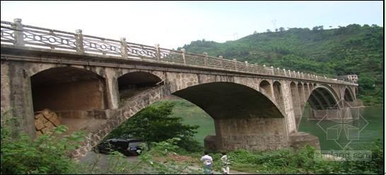 [湖南]双曲拱式桥梁检测方案