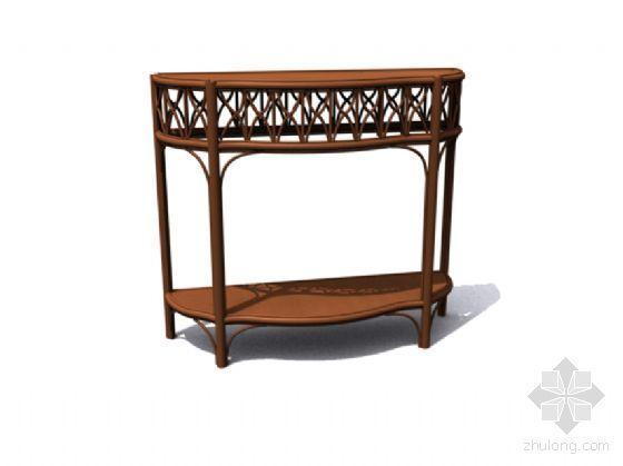 中式桌模型21