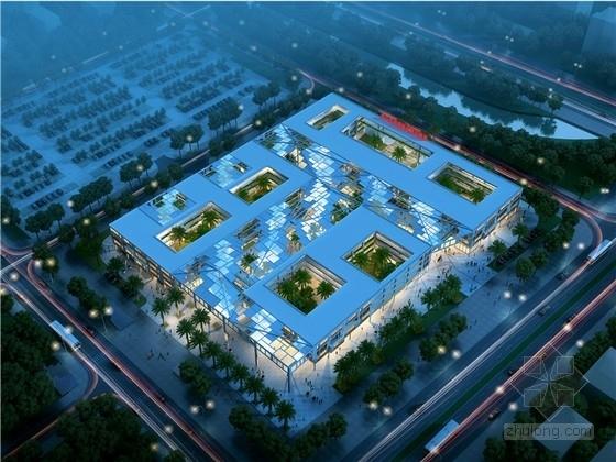 [广东]现代风格办公服务中心建筑设计方案文本