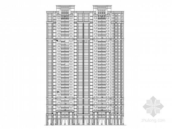 [武汉]33层高层住宅楼建筑施工图