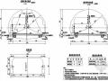 [湖南]高速公路隧道施工设计图(全套)