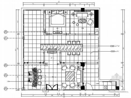 时尚高端建材混搭风格皮居展厅设计装修图(含实景)
